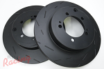 EBC Slotted Rear Brake Rotors: EVO 5-9