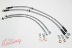 TechnaFit SS-Braided Lines for EVO 5-9 (Brembo) Rear Big Brakes: 2g DSM
