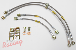 Goodridge G-Stop Stainless Braided Brake Lines: 2g DSM