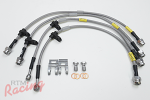 Goodridge G-Stop Stainless Braided Brake Lines: EVO 10