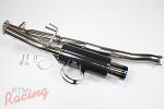 HKS Carbon-Ti Catback System: 2g DSM AWD