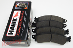 Hawk HP Plus Pads for Cobra Front Big Brakes: DSM/EVO 1-3