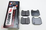 Hawk HP Plus Rear Pads: EVO 5-9