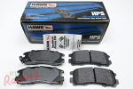 Hawk HPS Pads for Rear Brakes: 2g DSM