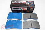 Hawk Performance Blue Race Pads for EVO5-9 Front Big Brakes: DSM