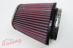 "K&N Air Filter with 4"" Oval Inlet"