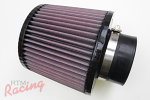 "K&N Air Filter with 3"" Inlet"