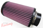 "K&N Air Filter with 3.25"" Inlet"