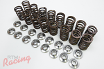 Manley Upgraded Valve Springs & Retainers: DSM/EVO