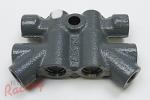 OEM Non-ABS Brake Proportioning Valve: 2g DSM