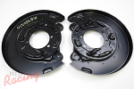 OEM Backing Plates/Dust Shields for Rear Brakes: 2g DSM AWD