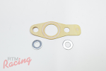 OEM Turbo Oil Return Flange Gasket: DSM