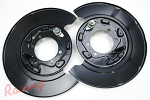 OEM Rear Brake Backing Plates/Dust Shields: EVO 7-9