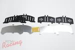 OEM Front Brake Pads Shim Kit: DSM/EVO 1-3