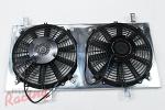 Mishimoto Aluminum Fan Shroud Kit: 1g DSM