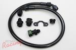 Radium Engineering Fuel Rail Plumbing Kit: EVO 10
