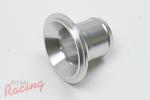 RTM Aluminum Hose-Barbed Flange for Tial Q/QR BOV
