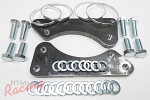Hardware Kit to Install 3000GT-VR4/Cobra Front Big Brakes: DSM/EVO 1-3/Galant