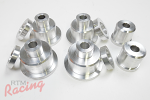 RTM Aluminum Front Subframe Bushing Kit: 2g DSM