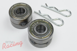 RTM Underhood Shifter Bushing Kit (Skateboard Bearing Style): DSM/EVO 1-3