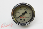 RTM Liquid Filled Fuel Pressure Gauge