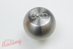 Solid Stainless Audi Logo Shift Knob