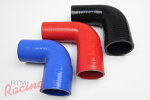 Silicone 90-Degree Reducer Elbows