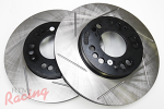 StopTech Slotted Rotors for DSM Dual-Piston Front Brakes: DSM