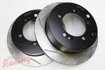 StopTech Slotted Rear Brake Rotors: 2g DSM
