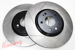 StopTech Slotted Front Brake Rotors: EVO 5-9