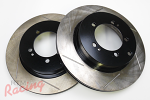 StopTech Slotted Rear Brake Rotors: EVO 5-9