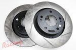StopTech Slotted Rotors for Outlander Front Big Brakes: DSM