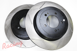 StopTech Slotted Rear Brake Rotors: EVO 10