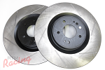StopTech Slotted Front Brake Rotors: EVO 10