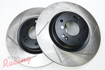 StopTech Slotted 320mm Genesis Rotors for Front Big Brakes: DSM