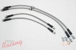 TechnaFit Stainless Braided Brake Lines: 2g DSM