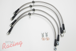 TechnaFit Stainless Braided Brake Lines: EVO 10