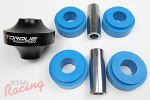 Torque Solutions Solid Rear Diff Bushing and Urethane Insert Kit: EVO 10