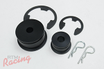 Torque Solution Shifter Cable Bushing Kit: EVO 8-9