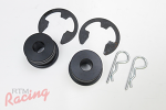 Torque Solution Shifter Cable Bushing Kit: Stealth/3000GT