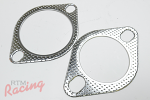 Vibrant 2-Bolt Exhaust Gaskets