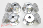 VMC Aluminum Rear Subframe Bushing Kit: 2g DSM