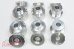 VMC Aluminum Front Subframe (K-Member) Bushing Kit: 2g DSM