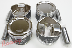 Wiseco 8.8:1 Forged Pistons for 2.3 6-Bolt Stroker: DSM