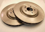 Rotors for EVO10 Front Big Brake Upgrade: 2g DSM