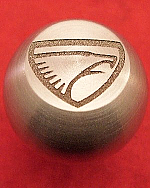 Solid Stainless Eagle Logo Shift Knob
