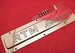 """RTM Racing"" Spark Plug Cover: DSM/EVO1-3"