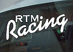 RTM Racing Window Stickers