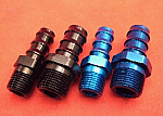 NPT Male to Hose Barb Fittings (Aluminum)