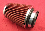 "Cone-Style Filter with 3"" Inlet"